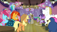 Everypony listening to Granny Smith S9E16