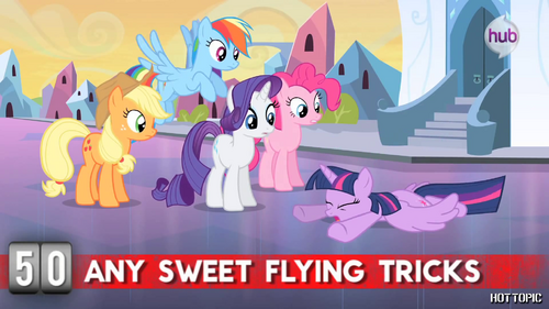 Hot Minute with Twilight Sparkle 'flying tricks'