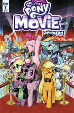 MLP The Movie Prequel issue 1 cover A