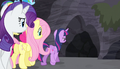 Mane Six approach the cave S5E1.png