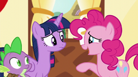 Pinkie --I wish we'd taken a picture for you!-- S5E22