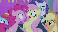 "Pinkie Pie ""The screaming fans?!"" S4E14"