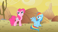 Pinkie Pie --Ah'ya caught me!-- S1E21