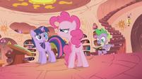 Pinkie Pie doesn't like Gilda S1E05