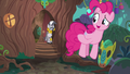 Pinkie Pie leaving Zecora's hut S7E19.png