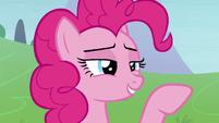 Pinkie Pie scoffing S8E3