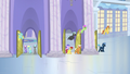 Ponies leaving the factory for lunch hour S5E5.png