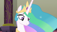 Princess Celestia gets interrupted again S8E1