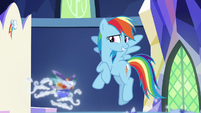 """Rainbow """"decided not to throw us overboard"""" S8E1"""