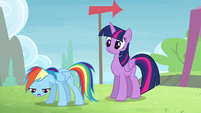 Rainbow 'and going to the Equestria Games' S4E10