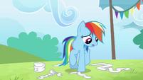 "Rainbow Dash ""I faked my injury"" S4E10"