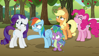 "Rainbow Dash ""they show up for this?"" S9E13"