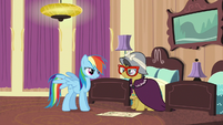 "Rainbow Dash ""what are you doing here?"" S6E13"