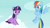 Rainbow Dash -you didn't even notice- S4E21