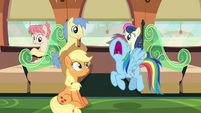 Rainbow Dash groaning loudly S6E18