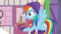Rainbow Dash hears Discord's voice MLPBGE