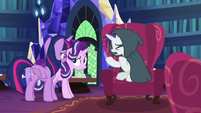 "Rarity ""Zecora might not be able to fix"" S7E19"