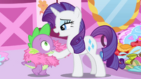 Rarity -You are my favorite dragon- S4E23