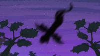 Shadowy figure flying overhead S4E07