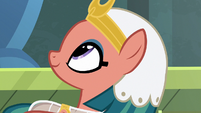 Somnambula looking happy S7E18