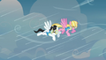 The two pegasi being hindered by the winds S3E07.png