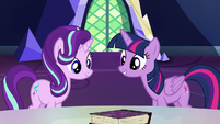 "Twilight Sparkle ""if we can get these lessons"" S7E14"