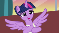 "Twilight Sparkle ""that's so sweet"" S7E10"