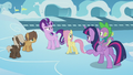 Twilight confronting Starlight next to foals S5E25.png