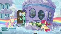 Zephyr --turn the backhouse into my art studio-- S6E11