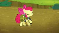 Apple Bloom accomplishes her job S5E04