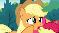 "Applejack ""feud with the Apples and the Pears"" S7E13"