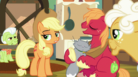 Applejack acquiescing; Big Mac agreeing S9E10