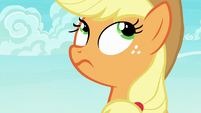Applejack rolling her eyes S6E22