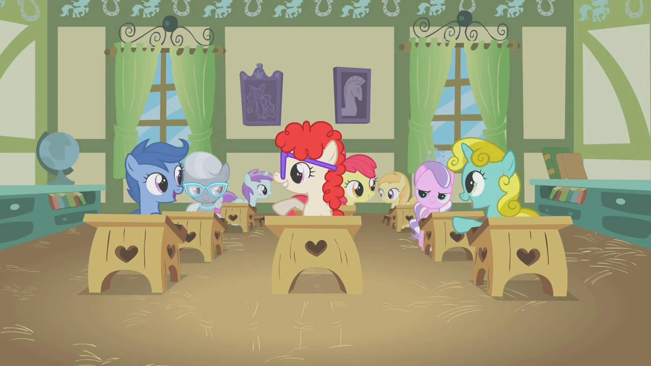 ponyville schoolhouse my little pony friendship is magic wiki