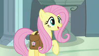 "Fluttershy ""happy to let you borrow mine"" S9E21"