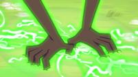 Gloriosa Daisy clawing into the ground EG4