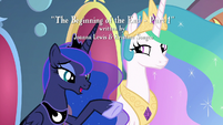 "Luna ""with the help of your friends"" S9E1"