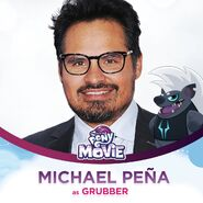 Michael Peña jako Grubber