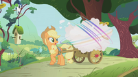 Parasprites eating Applejack's apples S1E10