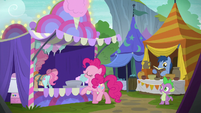 "Pinkie Pie ""just a little bit bigger please"" S6E7"