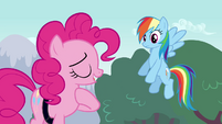 Pinkie Pie -should've been a big enough pony to admit that- S4E12