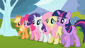 Ponies looking anxious S2E7.png