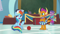 "Rainbow Dash ""because they don't"" S9E15"