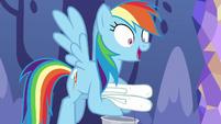 Rainbow Dash --sure thing, Starlight Glimmer-- S6E21