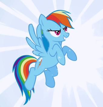 Rainbow Dash My Little Pony Wikia Fandom