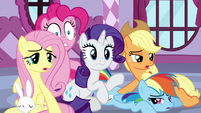 Rarity's friends start to wake up S9E7