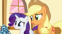 "Rarity ""Even for you"" S4E18"