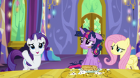"Rarity ""such a gorgeous castle"" S5E3"