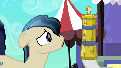 Rarity distracts Ivory with straw weaving S3E02