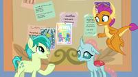 "Sandbar ""it's a pony dance party!"" S9E7"